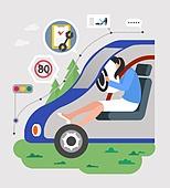 안전, 캠페인, 라이프스타일, 자동차 (자동차류), 교통사고, 에어백