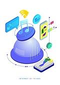 사물인터넷, 기술, 4차산업혁명 (산업혁명), 4차산업혁명, 인공지능, 음악, 스마트폰