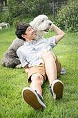 강아지, 라이프스타일, 애정 (밝은표정)