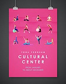 포스터, 레이아웃, 휴식 (정지활동), 백그라운드, 요가, 운동, 패턴, 건강관리 (주제), 다이어트