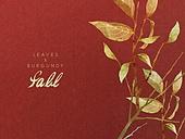 가을, 색연필, 자연 (주제), 백그라운드, 잎, 낙엽, 빨강