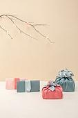 가지 (식물부분), 꽃, 스튜디오촬영 (실내), 추석 (한국명절), 한국명절 (한국문화), 전통문화 (주제), 선물 (인조물건), 선물세트 (선물)