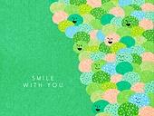 얼굴표정 (커뮤니케이션컨셉), 미소 (얼굴표정), 백그라운드, 웃음, 함께함 (컨셉), 풀숲 (Ornamental Grass)