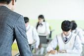 고등학생, 교실, 대학수학능력시험 (시험)