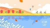 벡터파일 (일러스트), 이벤트페이지, 팝업, 가을, 단풍 (가을), 여행, 소풍 (아웃도어)