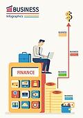 비즈니스, 화이트칼라 (전문직), 비즈니스맨, 계산기, 금융, 노트북컴퓨터 (개인용컴퓨터), 달러기호, 은행업무 (금융), 서류가방