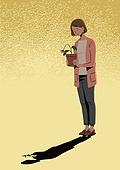 폐경기 (컨셉), 우울, 우울 (슬픔), 노인 (성인), 여성, 엄마, 호르몬, 슬픔, 꽃