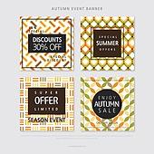 가을, 쇼핑 (상업활동), 상업이벤트 (사건), 세일 (사건), 웹배너 (인터넷), 팝업