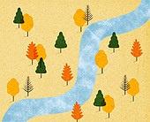 백그라운드 (주제), 가을, 계절, 자연 (주제), 자연풍경 (풍경), 나무, 패턴, 초원 (자연의토지상태)