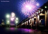 밤 (시간대), 야경, 불꽃놀이 (엔터테인먼트이벤트), 엔터테인먼트이벤트 (사건), 조명 (발광), 전통축제 (홀리데이), 연례행사, 풍경 (컨셉)
