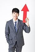 누끼, 흰색배경 (흰색), 교사, 한국인, 남성 (성별), 화살표, 낙천적 (컨셉), 향상