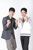 한국인, 누끼, 고등학생, 학교생활, 십대 (인간의나이), 화이팅, 자신감