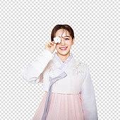 그래픽이미지, 파워포인트 (이미지), PNG, 누끼, 한국명절 (한국문화), 한복, 한국인, 여성, 목화솜