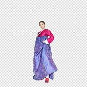 그래픽이미지, 파워포인트 (이미지), PNG, 누끼, 한국명절 (한국문화), 한복, 한국인, 여성