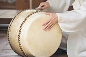 남성, 한복, 전통의상, 한국북 (한국전통악기), 타악기, 고수