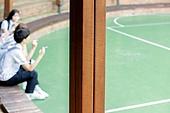 고등학생, 십대 (인간의나이), 반항청소년 (역할), 흡연 (주제)