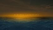 백그라운드, 자연풍경, 감성, 일몰 (땅거미), 바다, 파도 (바다), 미니멀 (구도)