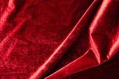 탑앵글, 천 (재료), 재질 (물체묘사), 백그라운드, 오브젝트 (묘사), 곡선, 컬러, 빨강, 벨벳