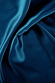 탑앵글, 천 (재료), 재질 (물체묘사), 백그라운드, 오브젝트 (묘사), 곡선, 컬러, 파랑