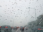 도로 (길), 강변북로, 서울 (대한민국), 비 (물형태), 교통, 교통체증 (교통)