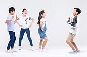 초등학생, 한국인, 어린이 (인간의나이), 누끼, 댄스교실, 춤, 행복, 즐거움 (컨셉), 플레이 (움직이는활동)