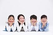 어린이 (인간의나이), 초등학생, 누끼, 한국인, 교육 (주제), 공부, 눕기 (몸의 자세)