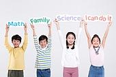 어린이 (인간의나이), 초등학생, 교육 (주제), 영어 (교과목), 학원, 학원 (교육시설), 웃음 (얼굴표정)