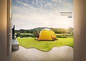 풍경 (컨셉), 아웃도어, 스포츠, 활력 (컨셉), 레저활동 (주제), 캠핑, 텐트
