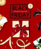 쇼핑 (상업활동), 라이프스타일, 상업이벤트 (사건), 블랙프라이데이 (세일), 이벤트페이지, 팝업, 세일 (사건), 선물상자 (상자)