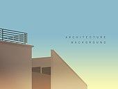 백그라운드, 건축, 건물외관 (건설물), 부분 (묘사), 지붕 (건물의부분), 카피스페이스 (구도), 풍경 (컨셉)