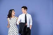 여성, 드레스 (의복), 레트로스타일, 패션, 정장, 커플, 데이트