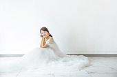 신부 (결혼식역할), 결혼 (사건), 웨딩드레스 (드레스), 미소