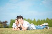 커플 (인간관계), 데이트, 감성, 이성커플 (커플), 한국인, 동양인 (인종), 로맨스 (컨셉), 이성커플, 로맨틱, 눕기 (몸의 자세), 행복 (컨셉)