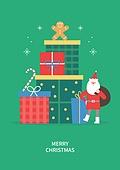 상업이벤트 (사건), 연례행사 (사건), 크리스마스, 겨울, 선물상자, 산타클로스 (가상존재)