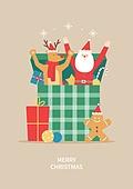 상업이벤트 (사건), 연례행사 (사건), 크리스마스, 겨울, 선물 (인조물건), 눈 (얼어있는물), 얼음결정 (얼음), 생강쿠키 (쿠키), 산타클로스 (가상존재)