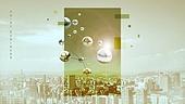 백그라운드, 도시풍경, 키포인트 (컨셉), 기하학모양 (도형), 비즈니스, 직사각형 (이차원모양)