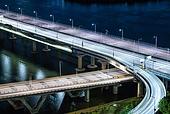 서울 (대한민국), 한국 (동아시아), 도시, 도심지 (구역), 도시풍경 (풍경), 도로, 교통, 교통체증 (교통), 야경, 다리 (인공구조물)