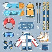 겨울 시즌 아이콘