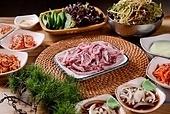 구이,소고기,상차림,생고기