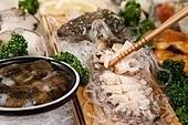 일식,해산물,회,전복