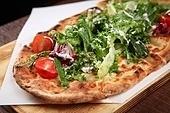 피자,샐러드