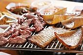 돼지껍데기,고기,구이