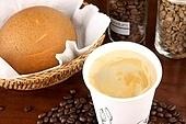 아메리카노,커피,빵