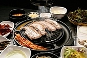 돼지고기,삼겹살,구이,김치