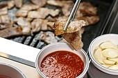 돼지고기,삼겹살,구이,소스