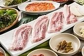 돼지고기,삼겹살,구이,쌈,정식