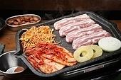 돼지고기,삼겹살,구이,콩나물