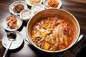 등갈비,김치찌개