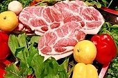 돼지고기,구이,목살,생고기