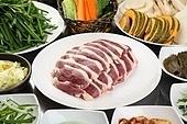 오리로스,고기,구이,생고기
